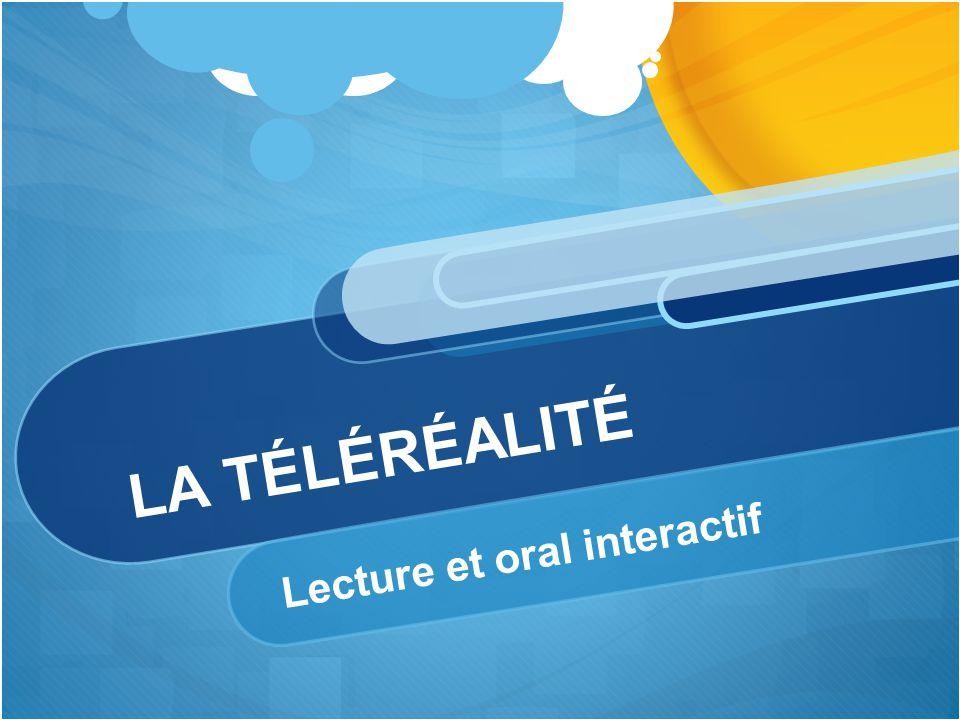 Lecture et oral interactif