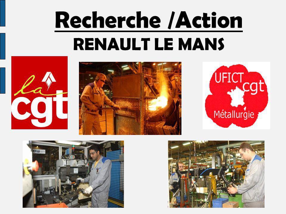 Recherche /Action RENAULT LE MANS