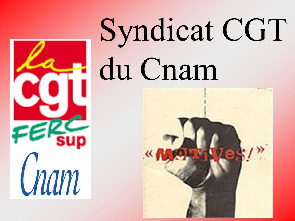 Syndicat CGT du Cnam