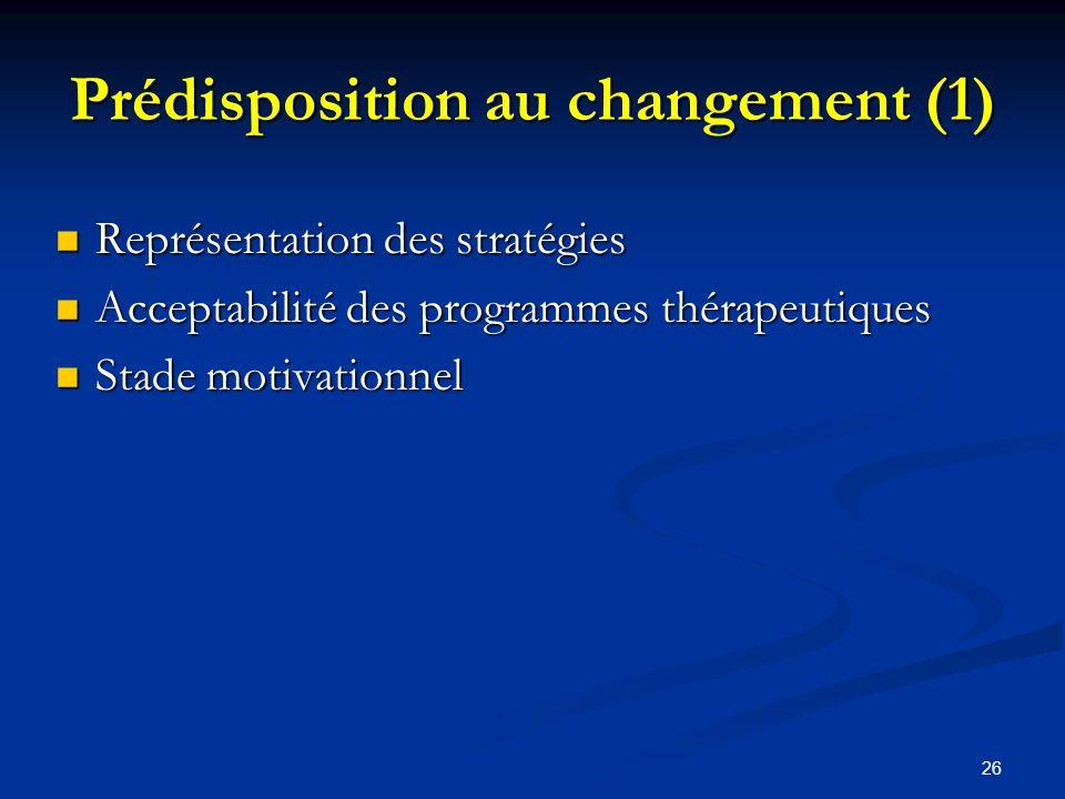 Prédisposition au changement (1)