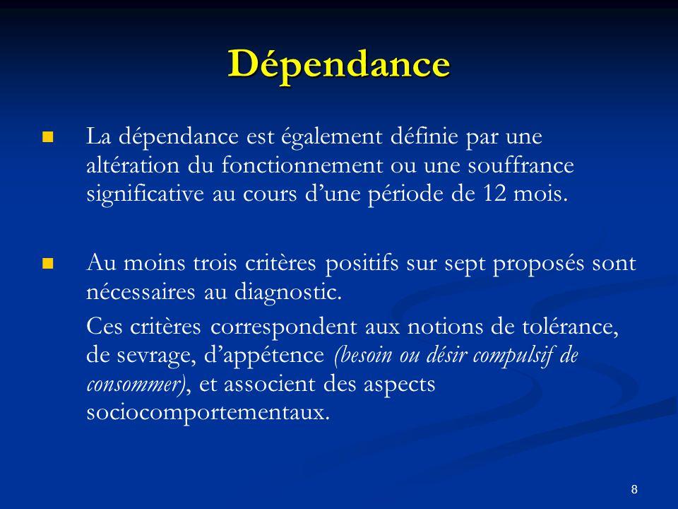 Dépendance