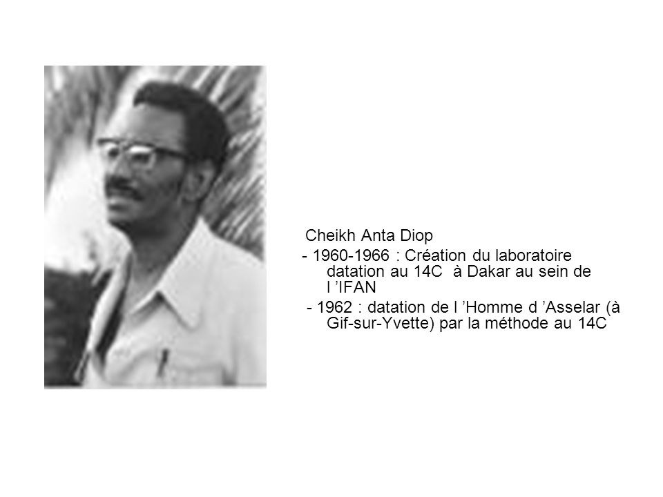 Cheikh Anta Diop - 1960-1966 : Création du laboratoire datation au 14C à Dakar au sein de l 'IFAN.
