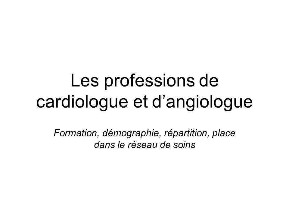 Les professions de cardiologue et d'angiologue