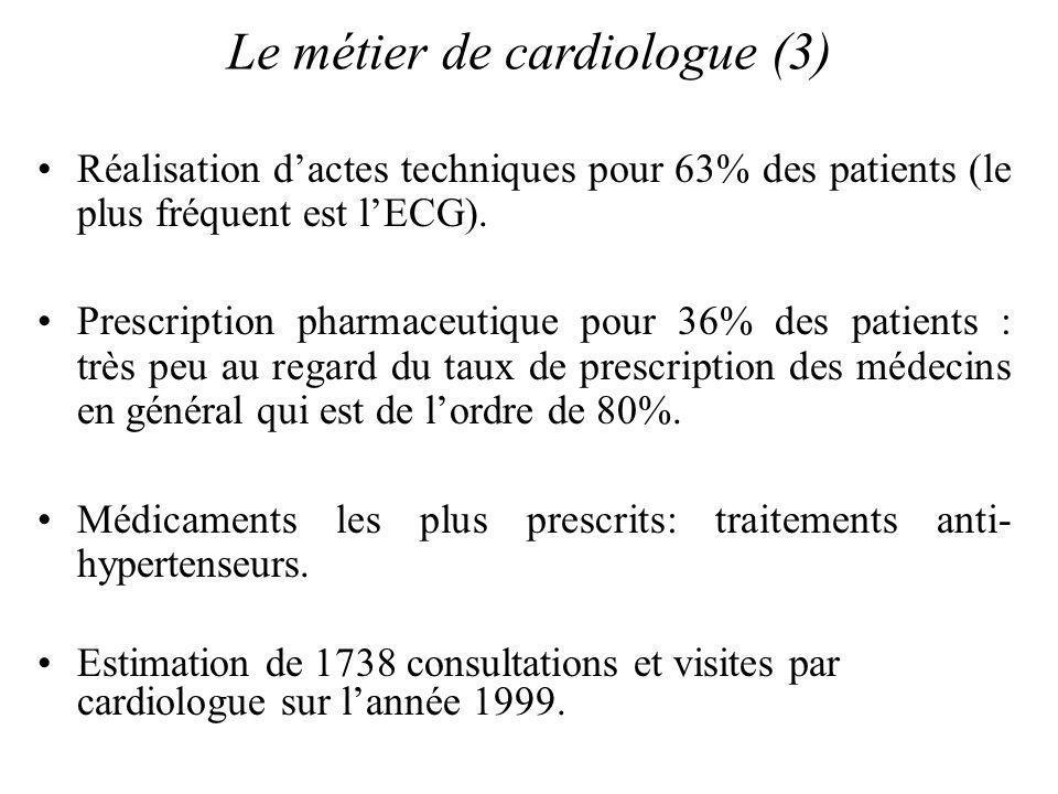 Le métier de cardiologue (3)