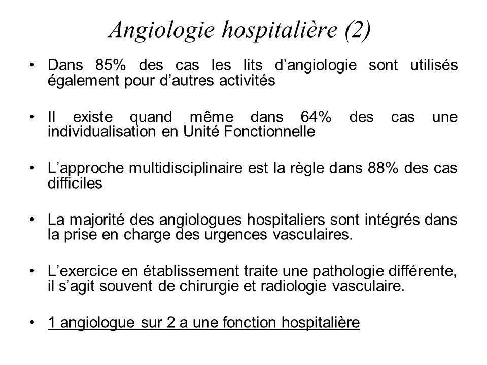 Angiologie hospitalière (2)