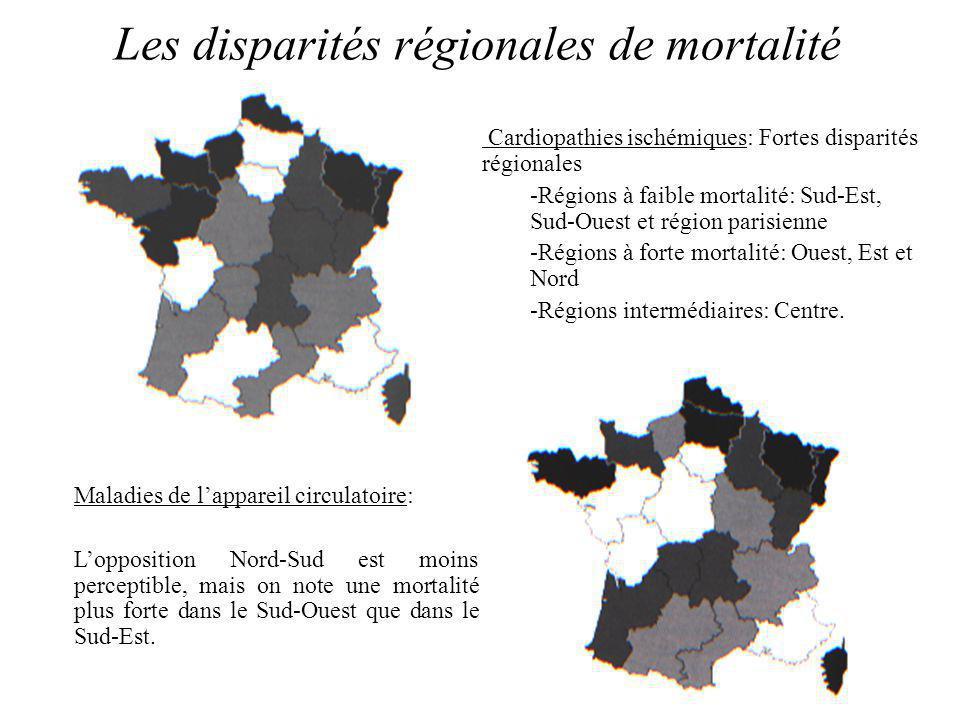 Les disparités régionales de mortalité