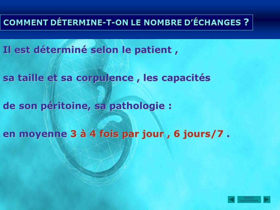 COMMENT DÉTERMINE-T-ON LE NOMBRE D'ÉCHANGES