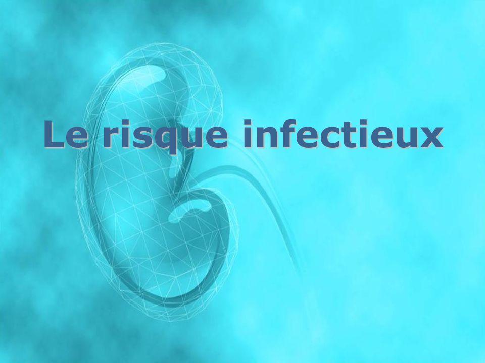 Le risque infectieux