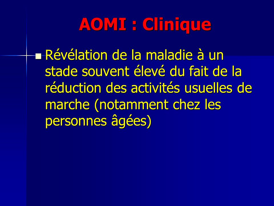 AOMI : Clinique