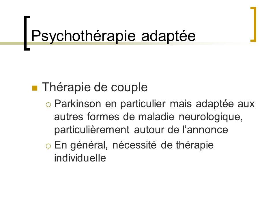 Psychothérapie adaptée