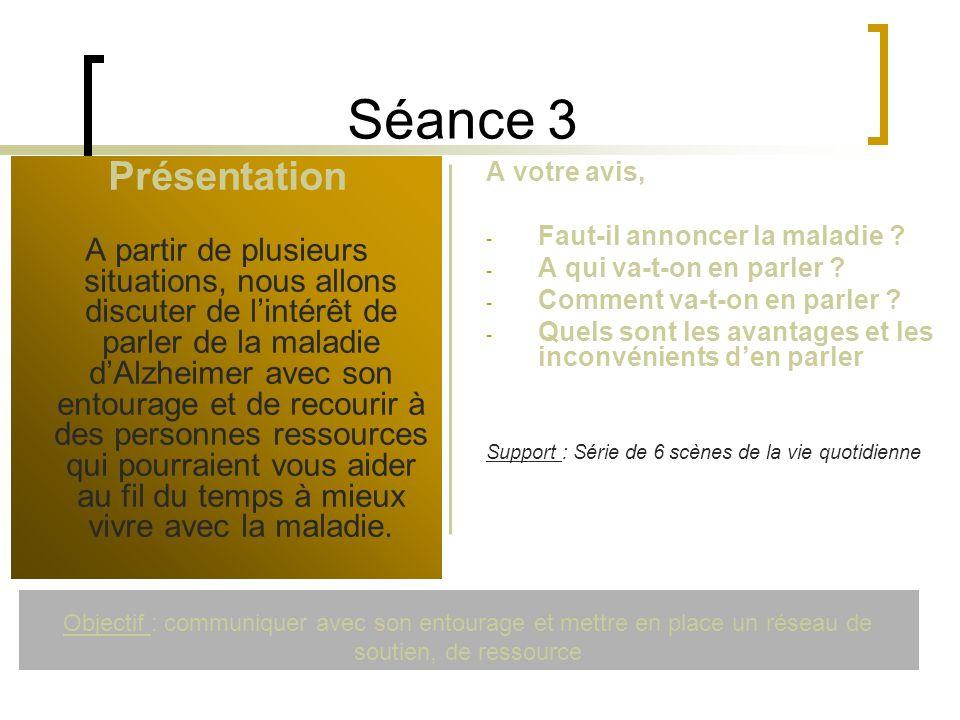 Séance 3 Présentation.