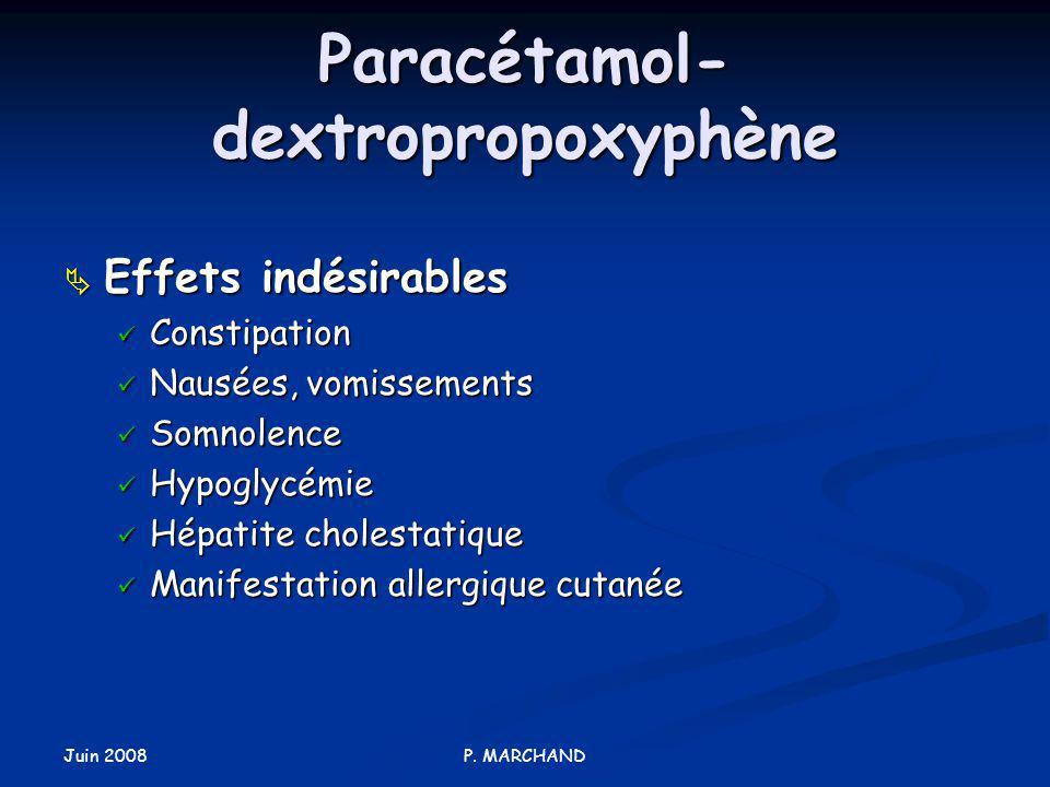 Paracétamol-dextropropoxyphène