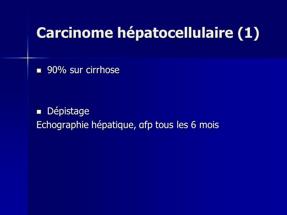 Carcinome hépatocellulaire (1)