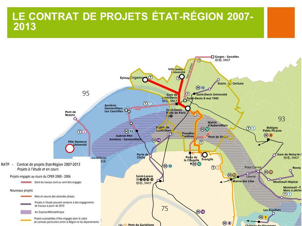 LE CONTRAT DE PROJETS ÉTAT-RÉGION 2007-2013