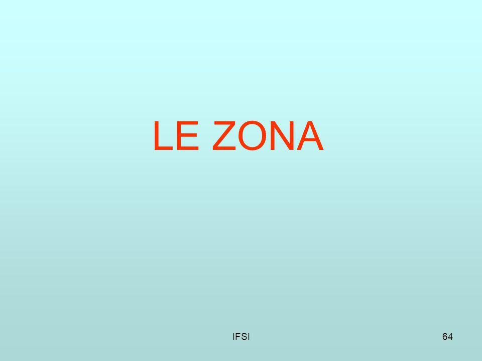 LE ZONA IFSI