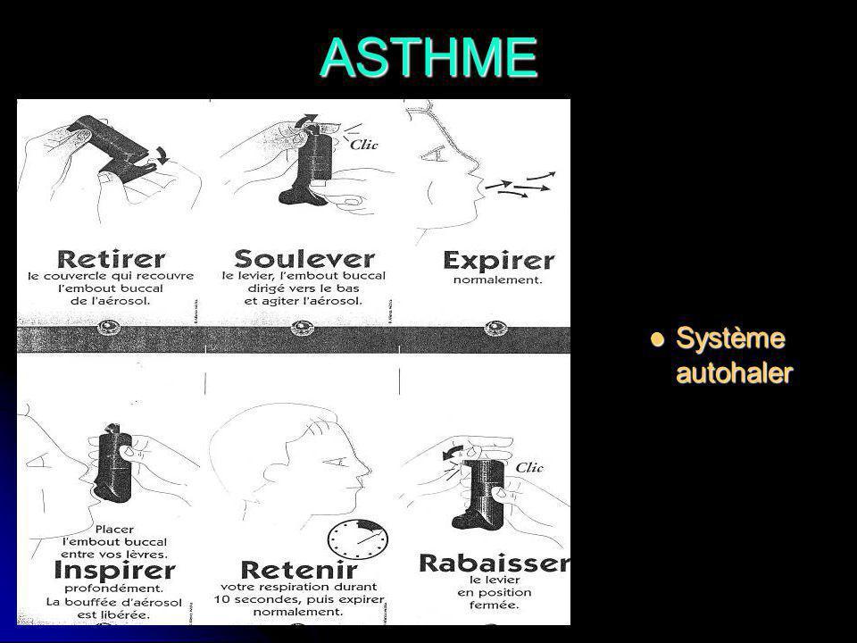 ASTHME Système autohaler