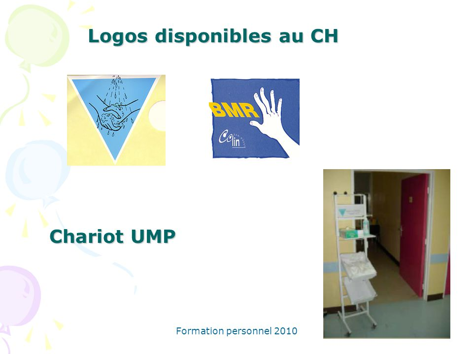 Logos disponibles au CH