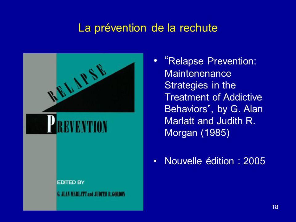La prévention de la rechute