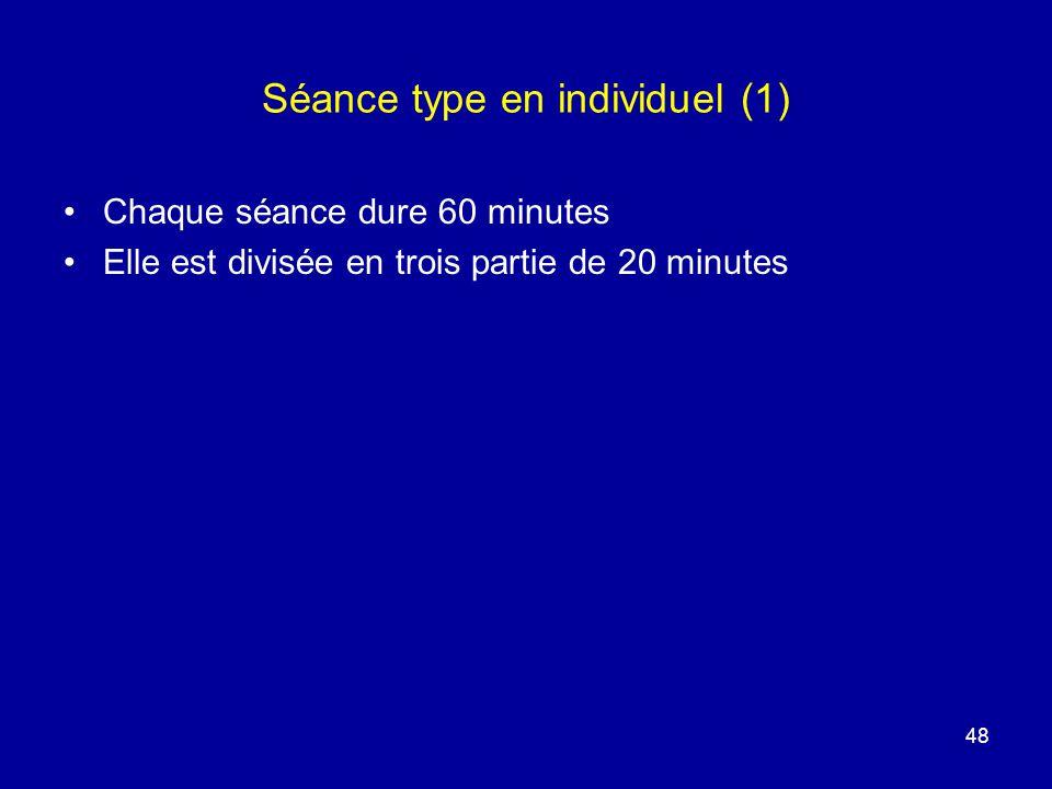 Séance type en individuel (1)
