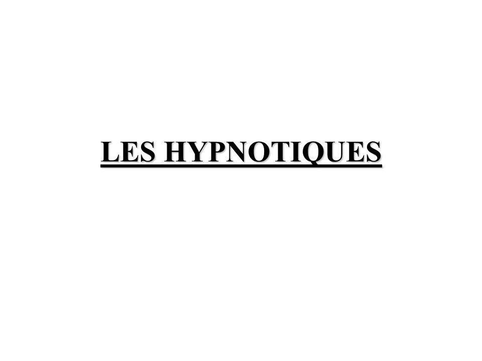 LES HYPNOTIQUES