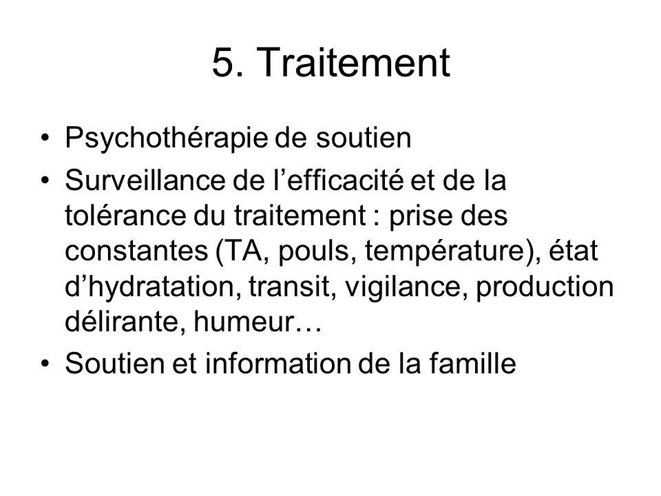 5. Traitement Psychothérapie de soutien