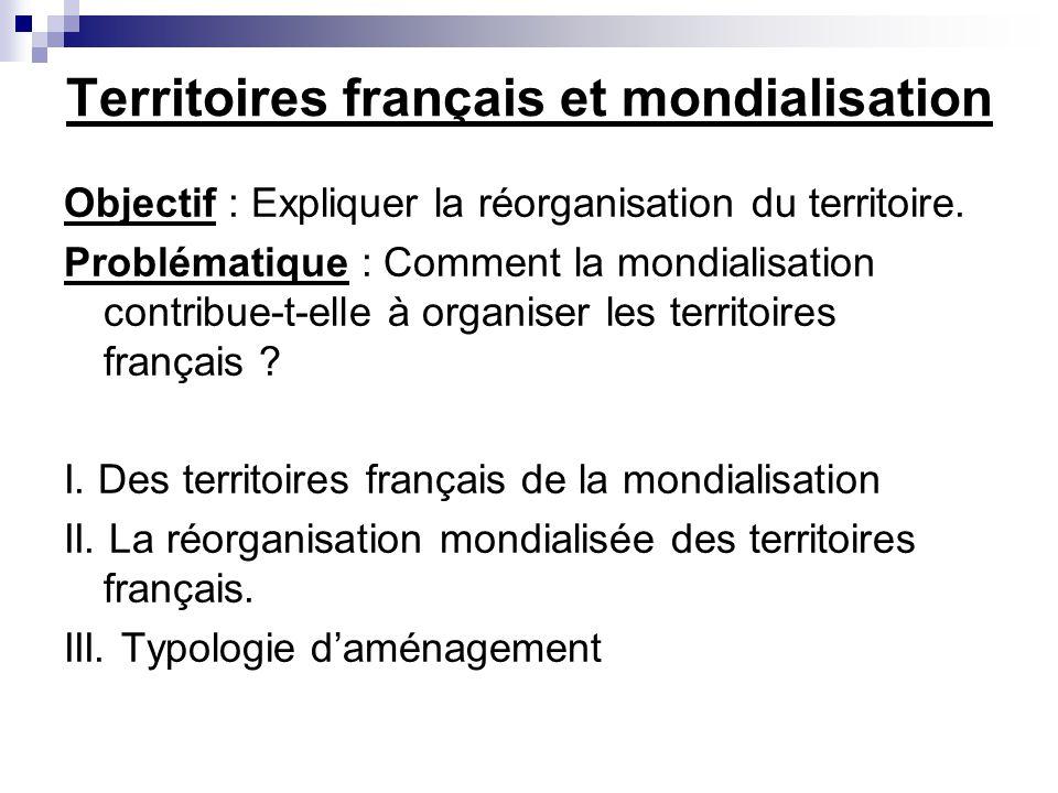 Territoires français et mondialisation