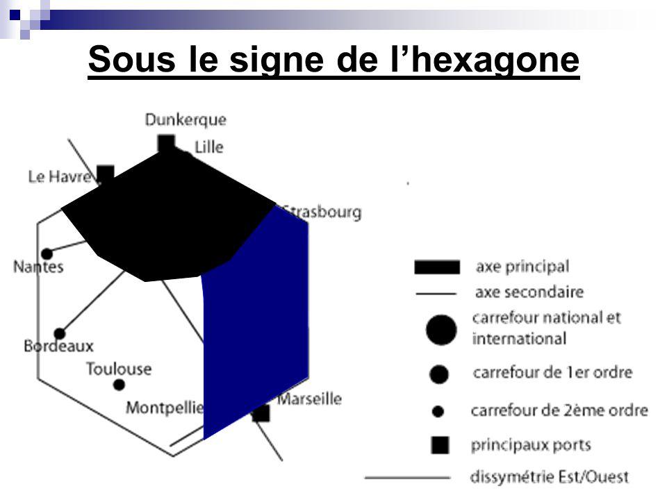Sous le signe de l'hexagone