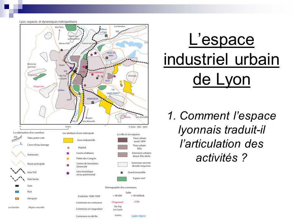 L'espace industriel urbain de Lyon 1