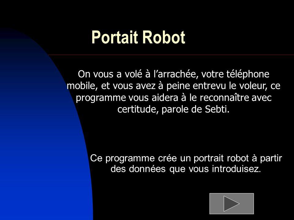Portait Robot