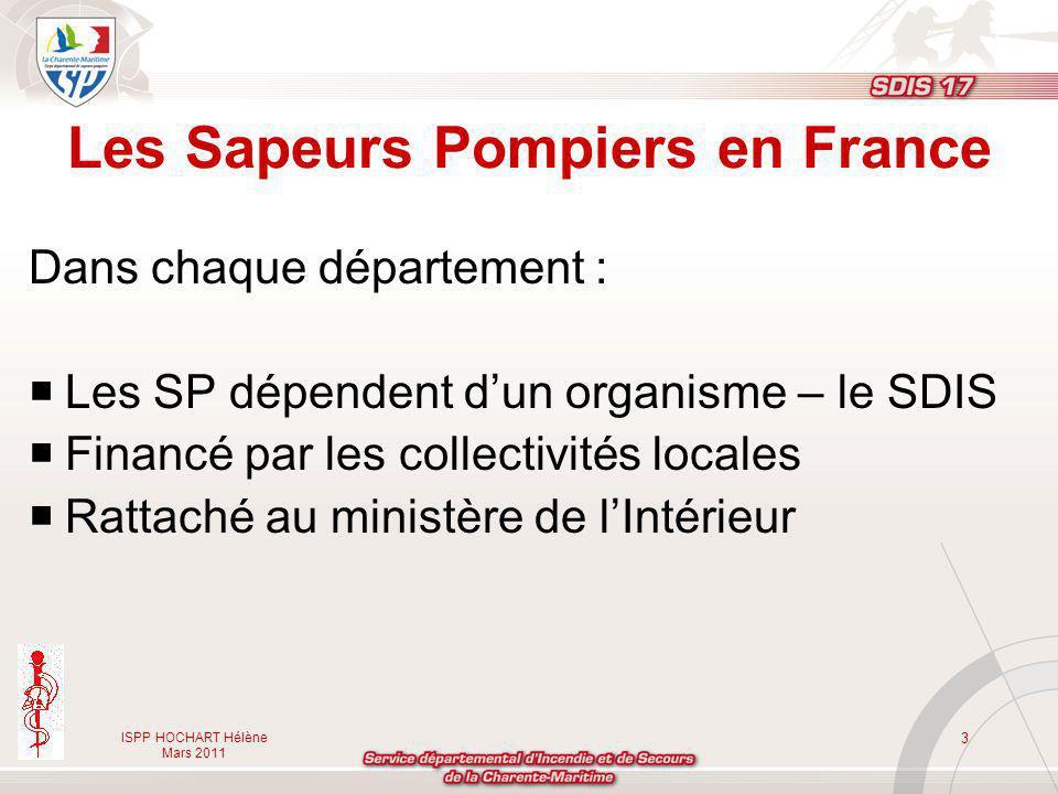 Les Sapeurs Pompiers en France