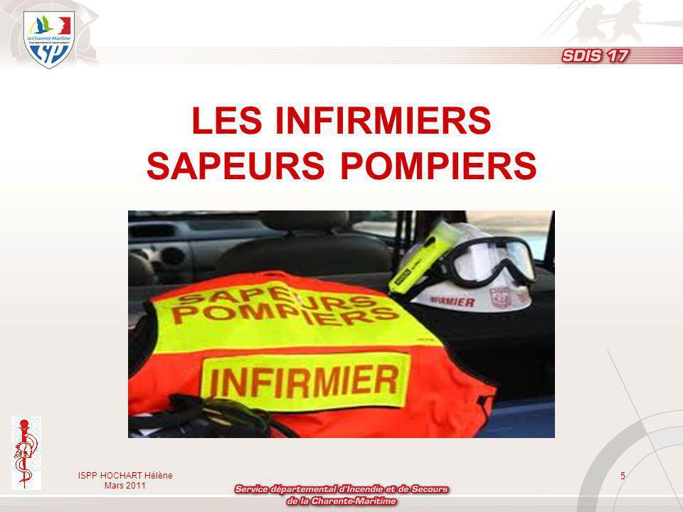 LES INFIRMIERS SAPEURS POMPIERS
