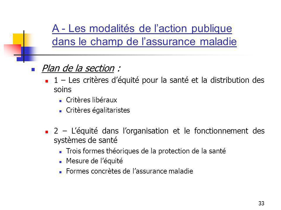 A - Les modalités de l'action publique
