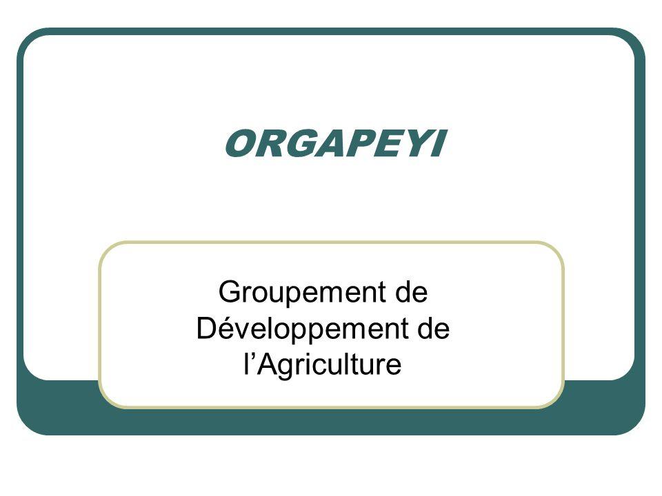Groupement de Développement de l'Agriculture