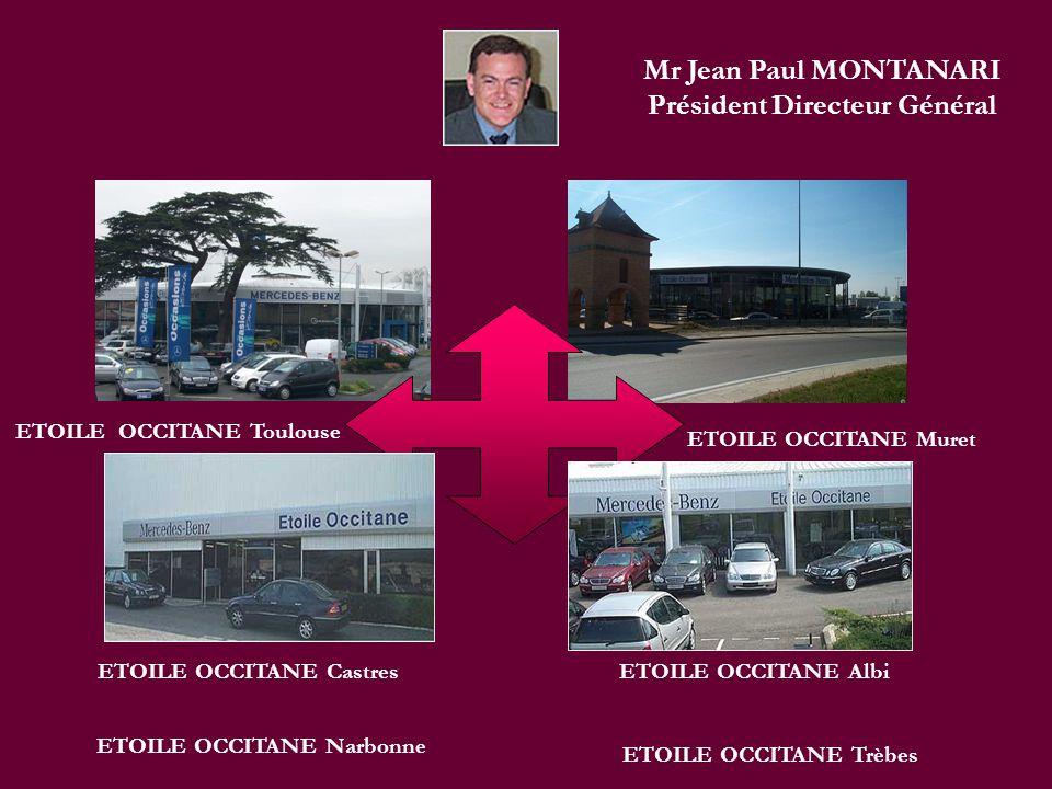Mr Jean Paul MONTANARI Président Directeur Général