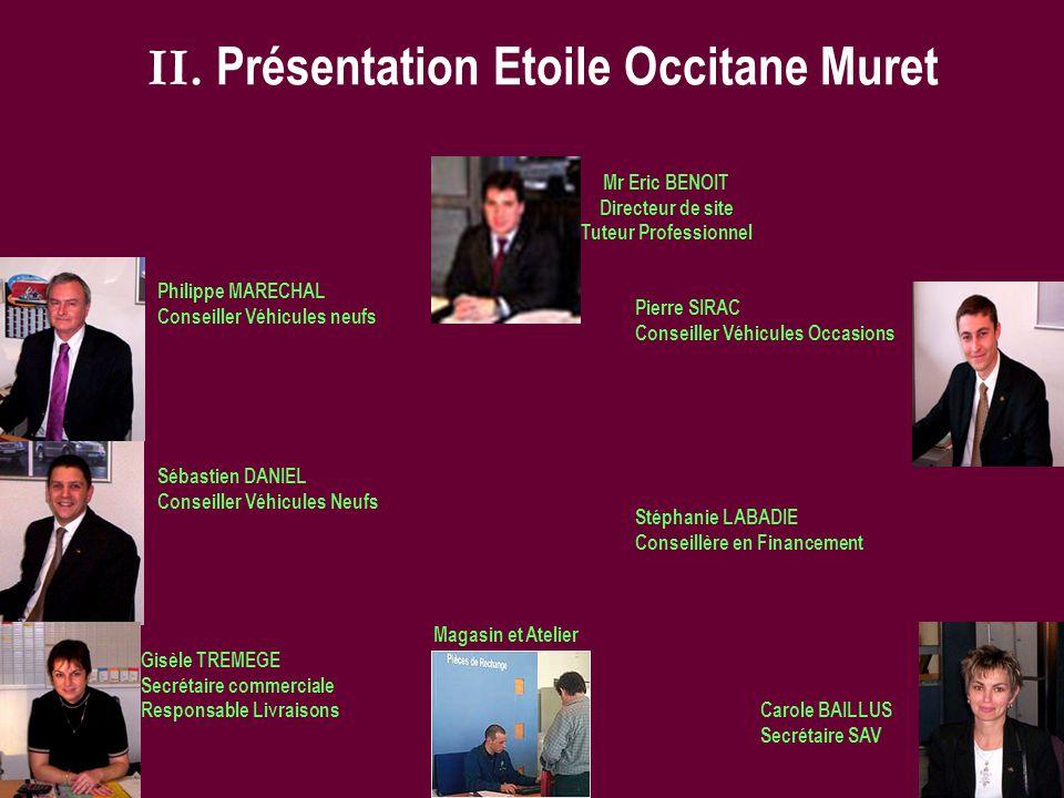 II. Présentation Etoile Occitane Muret
