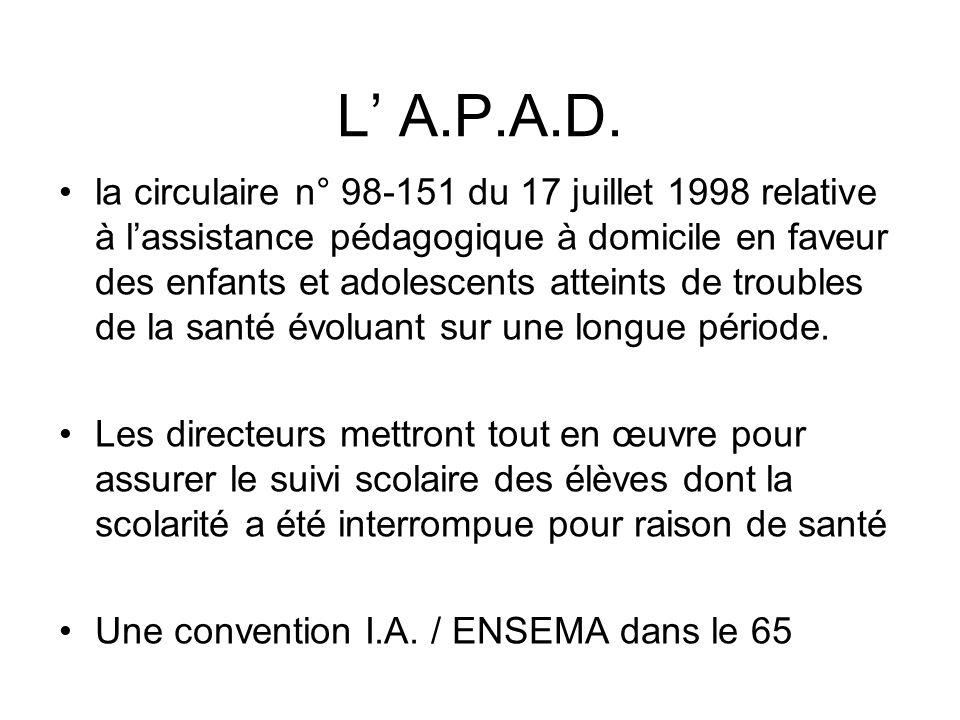 L' A.P.A.D.