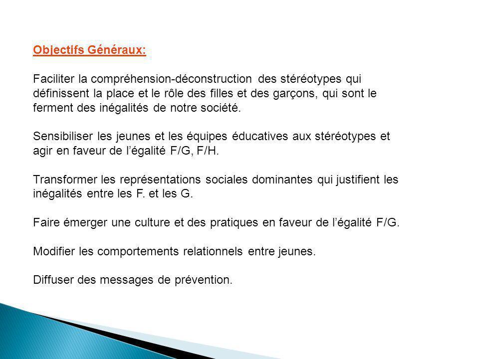 Objectifs Généraux: