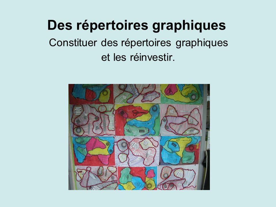 Des répertoires graphiques