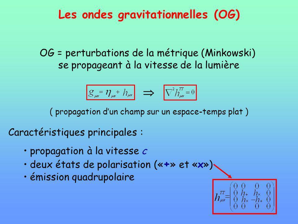 Les ondes gravitationnelles (OG)