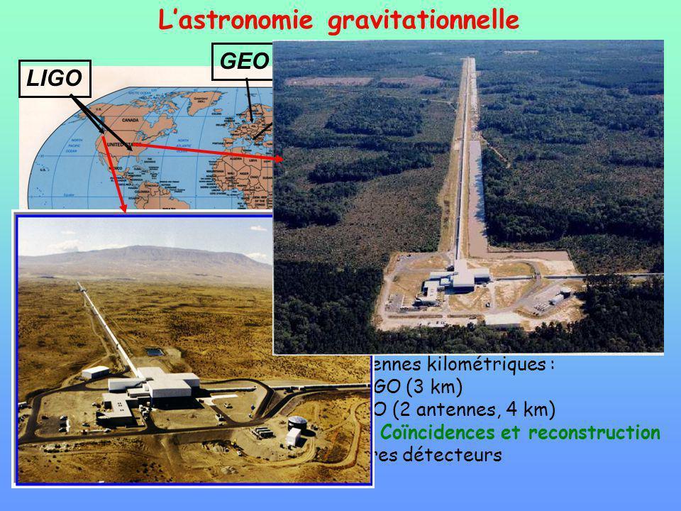 L'astronomie gravitationnelle