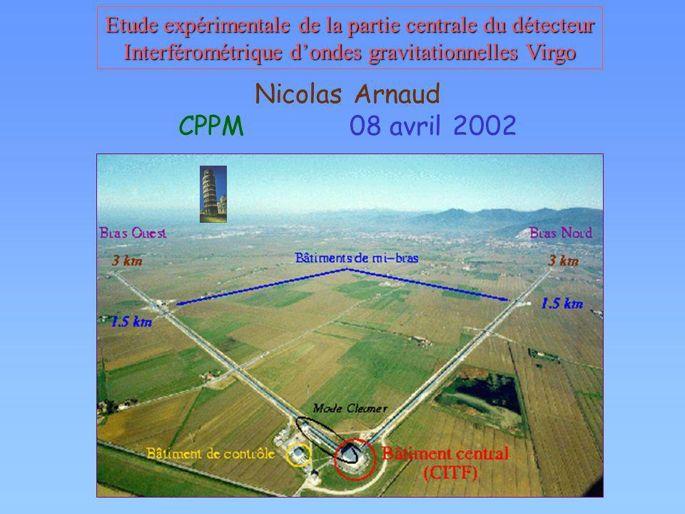 Nicolas Arnaud CPPM 08 avril 2002