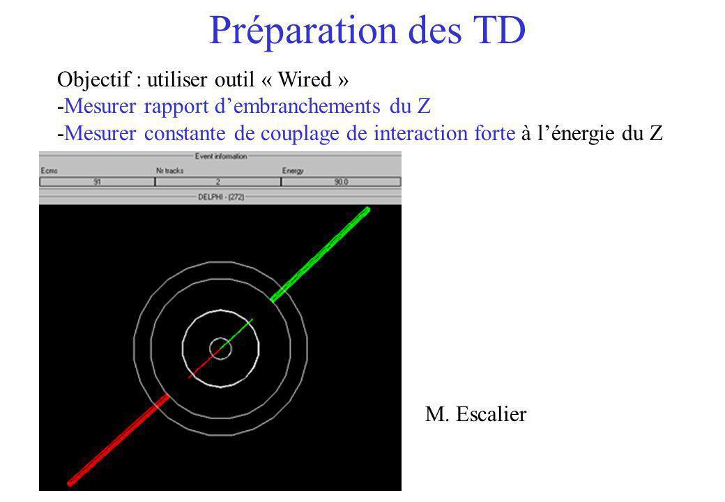 Préparation des TD Objectif : utiliser outil « Wired »