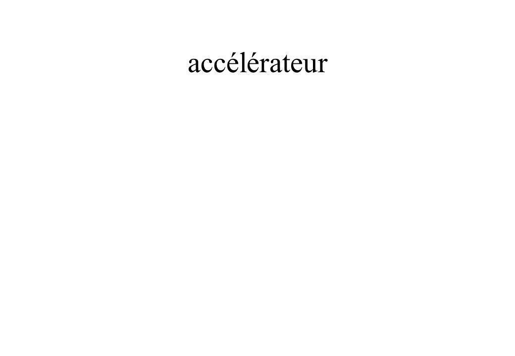 accélérateur