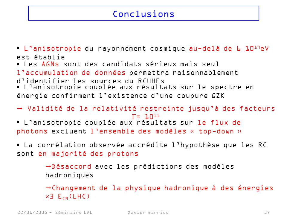 Validité de la relativité restreinte jusqu'à des facteurs = 1011