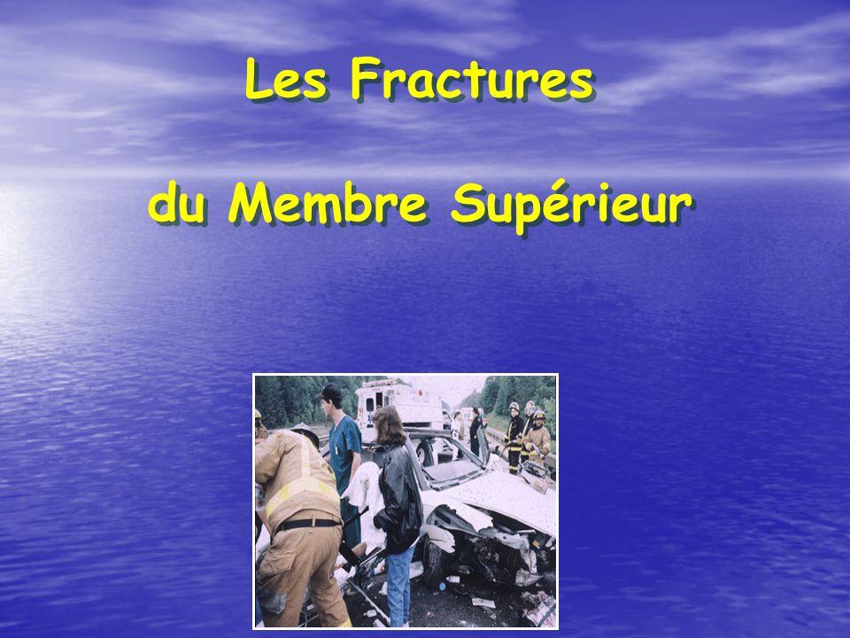 Les Fractures du Membre Supérieur