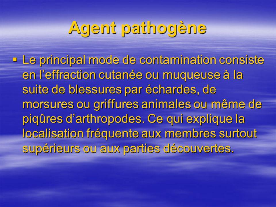 Agent pathogène