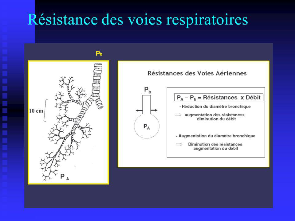 Résistance des voies respiratoires