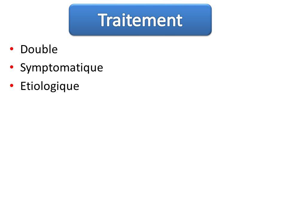 Traitement Double Symptomatique Etiologique
