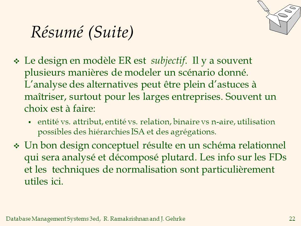 Résumé (Suite)