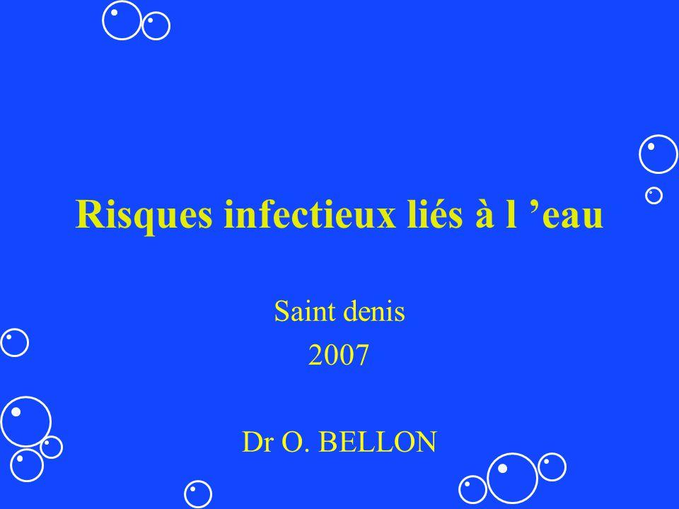 Risques infectieux liés à l 'eau